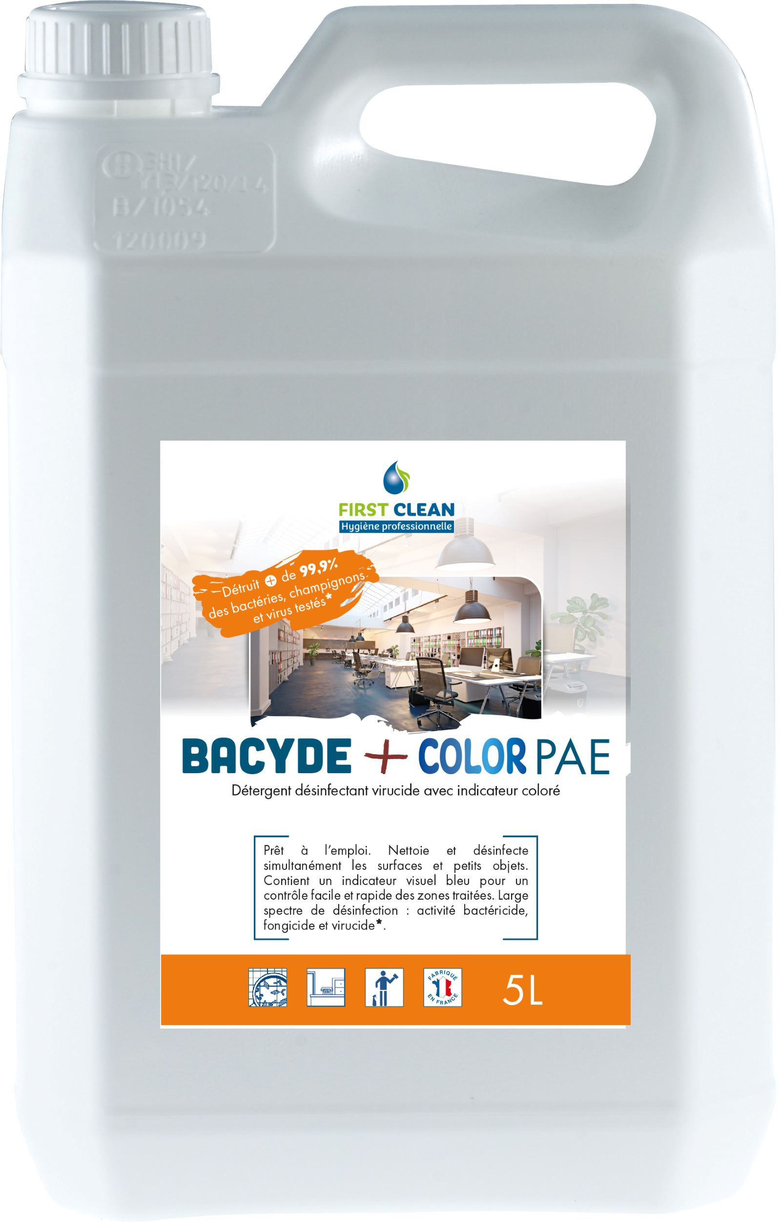 Bacyde+ Color PAE 5L
